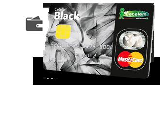 Cartão de crédito black iphone